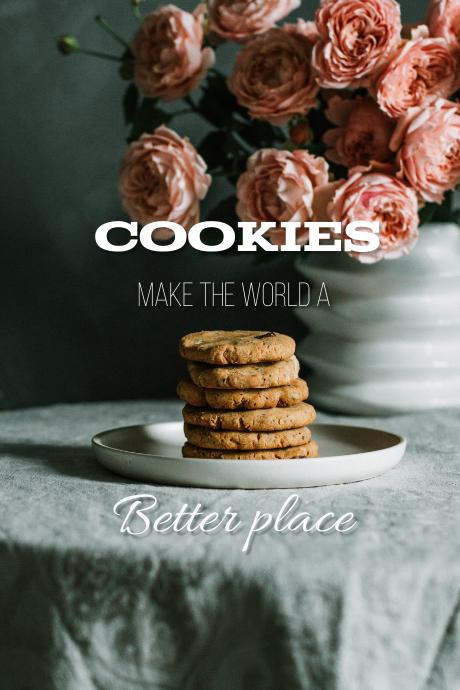 Food quote Tumblr-grafik template