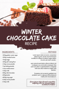 Food Recipe Page Template