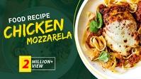 Food Recipe Youtube Video Thumbnail Template