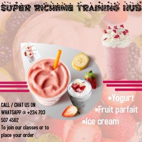 Food Restaurant flyer Logo template