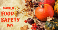 Food Safety Day Facebook Shared Image template