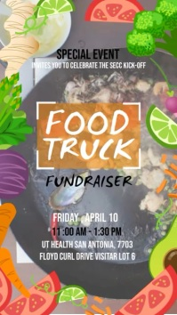 Food Truck Charity Advertising