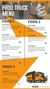 food truck Pantalla Digital (9:16) template
