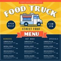 Food Truck Instagram Post template