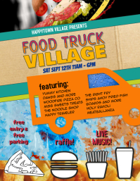 Food Truck Event Flyer