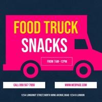FOOD TRUCK FESTIVAL VIDEO Instagram Post template