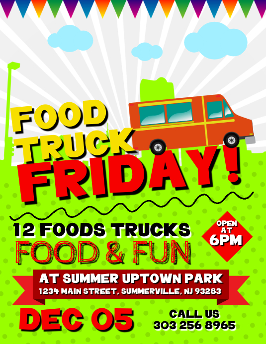 copy of food truck friday flyer