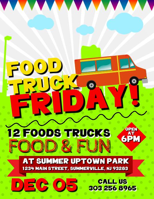 Food Truck Friday Flyer