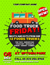 Customizable Design Templates For Food Truck Event PosterMyWall - Food truck flyer template