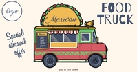 Food Truck Template Facebook Shared Image