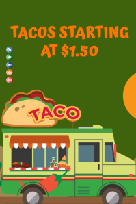 Food Vendor Truck Template
