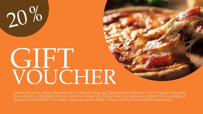 Food Voucher Template | Food Voucher Template Postermywall