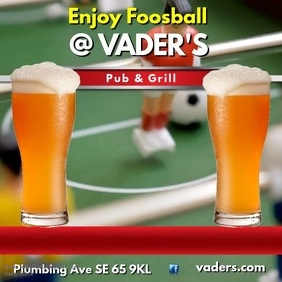 Foosball Video Advert