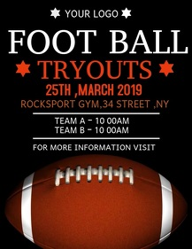 Foot ball flyers,event flyers,rugby