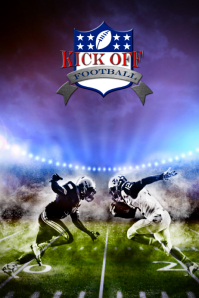 customize 970 football poster templates postermywall