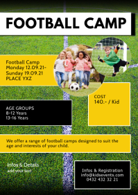 Football Camp Sport Week Kids Holiday Sport