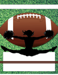 Football Cheer Background