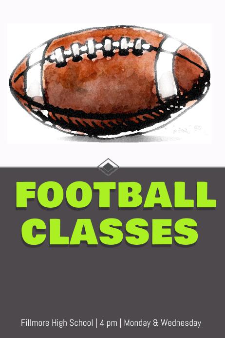 Football classes