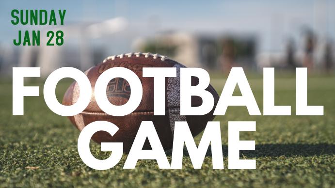 Football Digital na Display (16:9) template