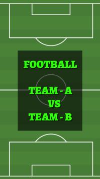Football История на Instagram template