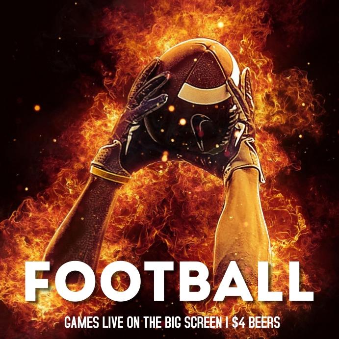 Football event - logo Isikwele (1:1) template