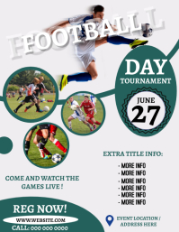 FOOTBALL EVENT TOURNAMENT Flyer Template