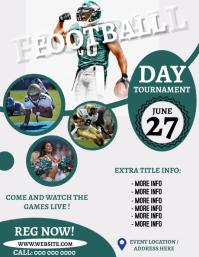 FOOTBALL EVENT TOURNAMENT Flyer Template