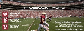 Football Facebook cover Image template