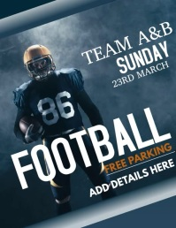 football flyer video,event flyer video