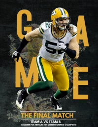 Football flyers,Gaming flyers,event flyer
