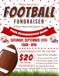 Football Fundraiser Flyer