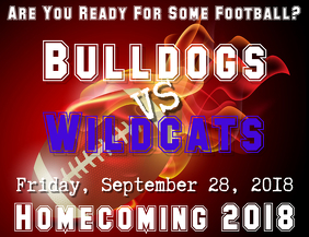 Football Homecoming Flyer