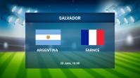 Football Match Twitter Plasing template