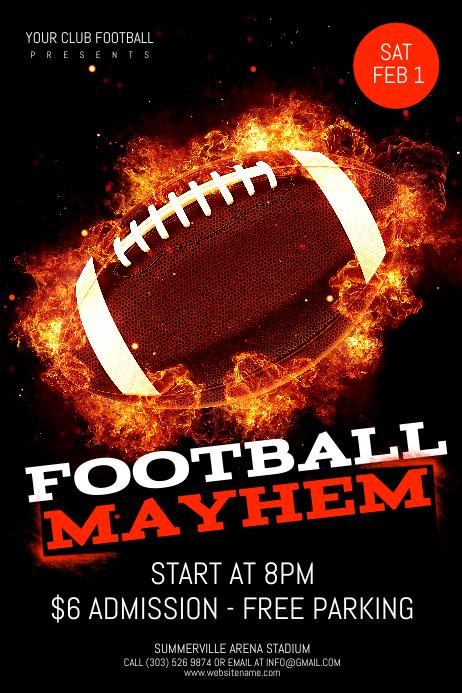 Football Mayhem Poster