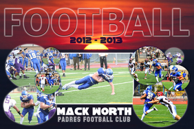 Football Photo Collage Template