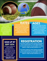 Football Registration Flyer (US Letter) template