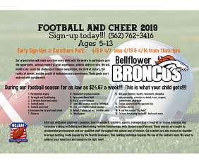 Football sign up