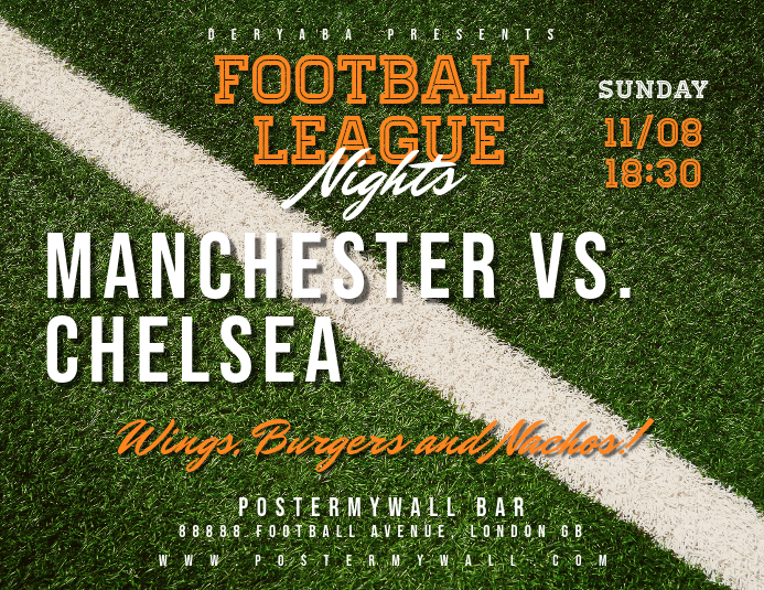 Football Soccer Match Flyer