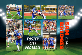 16 700 customizable design templates for football party postermywall