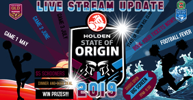 FOOTBALL- STATE OF ORIGIN