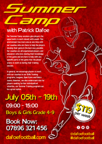 Football Summer Camp Flyer