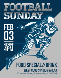 Football Sunday Flyer