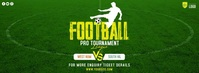 Football Tournament Ad Facebook Cover Photo template