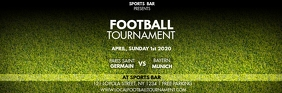 FOOTBALL TOURNAMENT Header Email template