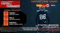 Football Tournament Digital Display Video