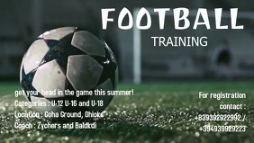FOOTBALL TRAINING AD