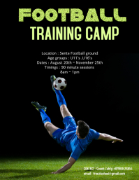 football training camp poster 3