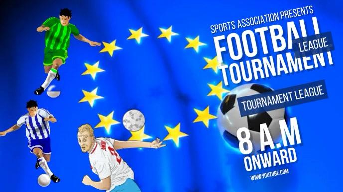 FOOTBALL VIDEO AD TEMPLATE Pantalla Digital (16:9)
