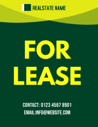 for lease real estate flyer