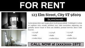 For Rent Classified Ad (#MDsgn)